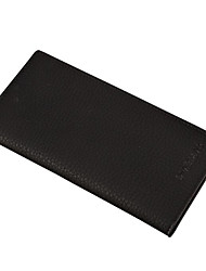 cheap -Men Bags PU Wallet for Shopping Casual Office & Career All Seasons Black Coffee Dark Coffee