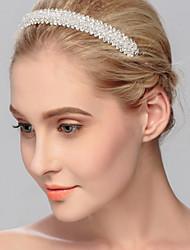 Недорогие -Сплав ободки Инструмент для волос Головная цепь 1 Свадьба Особые случаи Повседневные на открытом воздухе Заставка