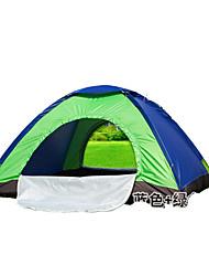 3-4 Pessoas Tenda Único Barraca de acampamento Um Quarto Barracas para Acampamento Família Prova-de-Água Resistente Raios Ultravioleta Á