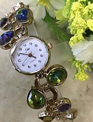 baratos -Mulheres Bracele Relógio / Simulado Diamante Relógio Chinês imitação de diamante / / Lega Banda Casual Ouro Rose / Um ano / SSUO LR626