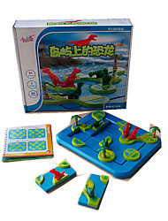 Недорогие -Пазлы Игры с последовательностью Пазлы и логические игры Игрушки Игрушки Динозавр Игрушки Куски Не указано Детские День рождения Подарок