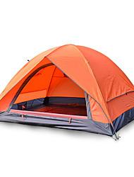 2 Pessoas Tenda Duplo Barraca de acampamento Um Quarto Tenda Dobrada Prova-de-Água Portátil para Equitação Campismo Fibra de Vidro Oxford