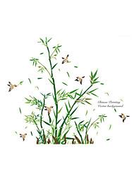 preiswerte -Tiere Botanisch Cartoon Design Wand-Sticker Flugzeug-Wand Sticker Dekorative Wand Sticker, Vinyl Haus Dekoration Wandtattoo Wand Glas /