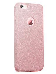 abordables -Pour iPhone 8 iPhone 8 Plus Etuis coque IMD Coque Arrière Coque Brillant Flexible PUT pour Apple iPhone 8 Plus iPhone 8 iPhone 7 Plus