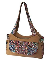 cheap -Women's Bags Canvas Tote for Casual All Seasons Brown
