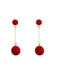 Fashion Women Bobbles  Alloy Earring
