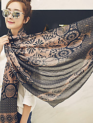 cheap -Bohemia Beach Tourism 2017 Cotton Rose Scarf Shawl Thin Long Rectangle Print Women's