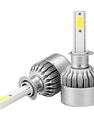 economico -2pcs h1 ha condotto la lampada impermeabile ip65 della nebbia del faro di blub 3636 36m 3600lm impermeabile 6000k
