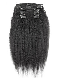 cheap -Clip In Human Hair Extensions Human Hair 7Pcs/Pack 18 inch 20 inch 22 inch 24 inch 26 inch