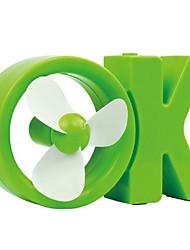 Estate rinfrescante, fan di ok usb, ventilatore desktop, mini creativo, mini ventilatore ok