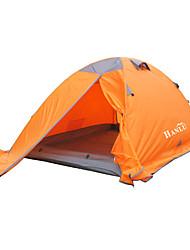 2 Personen Zelt Doppel Camping Zelt Einzimmer Zelte für Rucksackreisen Feuchtigkeitsundurchlässig Wasserdicht Regendicht Atmungsaktivität