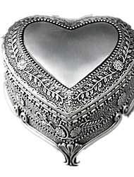 cheap -Music Box Square Heart Romantic Unisex