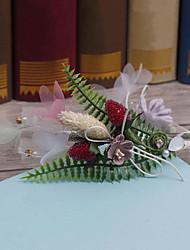 Liga de tecido cabeça headpiece-casamento ocasião especial casuais headbands ao ar livre 1 peça