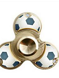 Spinners de mão Mão Spinner Brinquedos Tri-Spinner Metal EDCO stress e ansiedade alívio Brinquedos de escritório Por matar o tempo