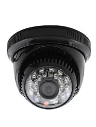 cheap -YanSe® CCTV Home Surveillance 3.6mm Lens with IR Cut Dome Security Camera 24PCS Infrared LEDs Black