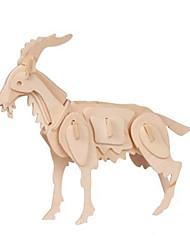 economico -Puzzle 3D Puzzle Kit per costruzioni Modello in legno Giocattoli Pecora 3D Animali Fai da te Legno Unisex Pezzi
