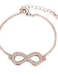 Women's Chain Bracelet Charm Bracelet Crystal AAA Cubic ZirconiaFriendship Turkish Gothic Movie Jewelry Handmade Fashion Vintage Bohemian