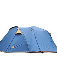 economico -CAMEL 3-4 persone Tenda Doppio Tenda da campeggio Due camere per Escursionismo Campeggio Viaggi CM