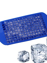 cheap -1Pcs  160 Grids DIY Creative Small Ice Cube Mold Square Shape Silicone Ice Tray Fruit Ice Cube Maker Bar Kitchen Accessories
