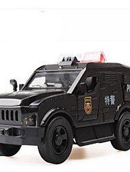 Toy Cars Toys Construction Vehicle Police car Toys Square Horse Metal Alloy Plastic Pieces Gift