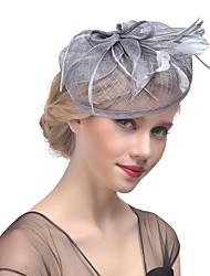 baratos -Mulheres Chapéu Tecido Presilha de Cabelo