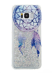 cheap -For Samsung Galaxy S8 Plus S8 Phone Case Dream Catcher Pattern Flowing Liquid Glitter Soft TPU Materia S7 edge S7 S6 edge S6 S5