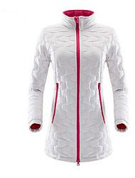 Mulheres Jaqueta Fleece de Trilha Acampar e Caminhar Térmico/Quente Respirável para Campismo / Escursão / Espeleologismo Inverno
