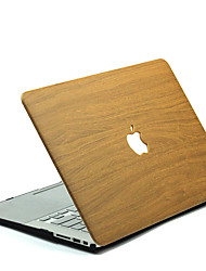 cheap -MacBook Case for wood grain Polycarbonate Macbook