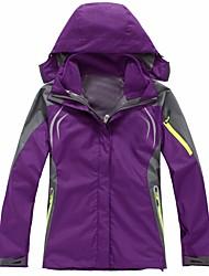 Mujer Chaquetas 3-en-1 Reflexivo Vestidos Prendas de abajo para Esquí Camping y senderismo Descenso Deportes de Nieve Invierno Otoño