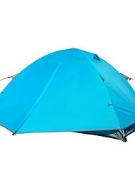 economico -2 persone Tenda Doppio Tenda da campeggio Una camera Tende a igloo e canadesi Antiumidità Ompermeabile Anti-pioggia per Campeggio Al