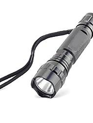 economico -Torce LED LED 600 lm 5 Modo Cree XR-E Q5 Impugnatura antiscivolo Ultraleggero Campeggio/Escursionismo/Speleologia Uso quotidiano Ciclismo
