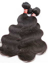 cheap -100% original brazilian virgin hair body wave 4bundles 400g lot unprocessed virgin human hair material natural hair color best quality last long time