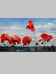 cheap -Large Hand Painted Flowers Oil Painting On Canvas Wall Art Picture For Home Decoration Ready To Hang
