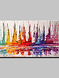 cheap -Large Hand Painted Modern Abstract Knife Oil Painting On Canvas Wall Picture For Home Decoration Ready To Hang