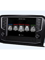 economico -8 pollice 2 Din Windows CE 6.0 Bluetooth integrato / GPS / iPod per Volkswagen Supporto / RDS / Comandi al volante / USB