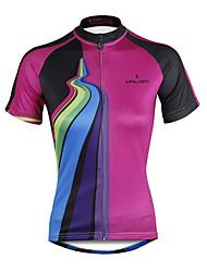 ILPALADINO Maglia da ciclismo Per donna Manica corta Bicicletta Maglietta/Maglia Top Asciugatura rapida Resistente ai raggi UV