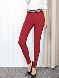 cheap -Women's Casual Skinny Pants - Solid Colored