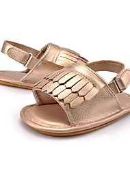 cheap -Baby Kids' Loafers & Slip-Ons First Walkers Synthetic Summer Fall Party & Evening Dress Casual Tassel Flat HeelCamel Blushing Pink Green Brown