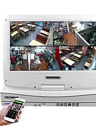 abordables -Strongshine® 10.1 pouces 8ch 960p 720p avec hdmi et p2p lcd nvr