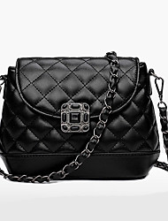 Women Bags PU Shoulder Bag for Wedding Event/Party Casual Formal Office & Career All Seasons Black