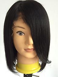 cheap -Short Bob Wig Full Lace Wigs Human Hair Brazilian Short Bob Lace Front Wigs Virgin Hair Cuts Bob Human Hair Wigs