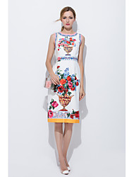 cheap -Women's A Line Dress - Special Design, Print