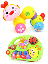 cheap -HUILE TOYS Dollhouse Accessory Educational Toy Toys Plastics Children's Baby Pieces