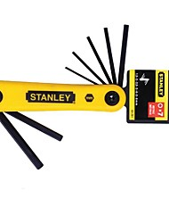 Stanley Metric Folding Inner Six Angle Wrench 2.5-10Mm 7 Piece Set /1 Set