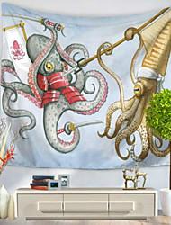 Недорогие -Декор стены 100% полиэстер Средиземноморье Предметы искусства,1
