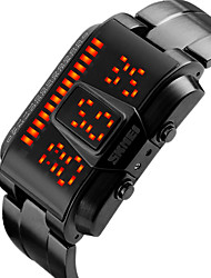 cheap -SKMEI® 1179 Men's Woman Smart Bracelet / SmartWatch /Trendy Waterproof Personality Creative LED Students Large Dial Watch 50 Meters Waterproof