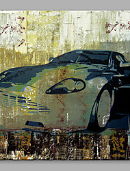 cheap -IARTS Oil Painting Modern Abstract Cool Car Art Acrylic Canvas Wall Art For Home Decoratio