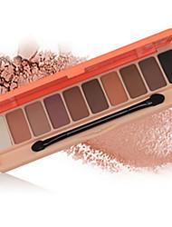 10*6 Lidschattenpalette Matt Schimmer Lidschatten-Palette Alltag Make-up Smokey Makeup
