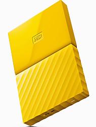 Wd nuovo il mio passaporto 4tb 2,5 pollici hard disk giallo mobile wdbyft0040byl-cesn