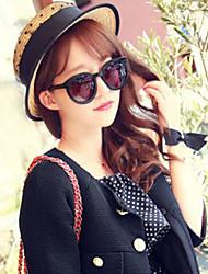 Недорогие -Женская мода Чистая Пряжа Кружева Соломенная шляпка